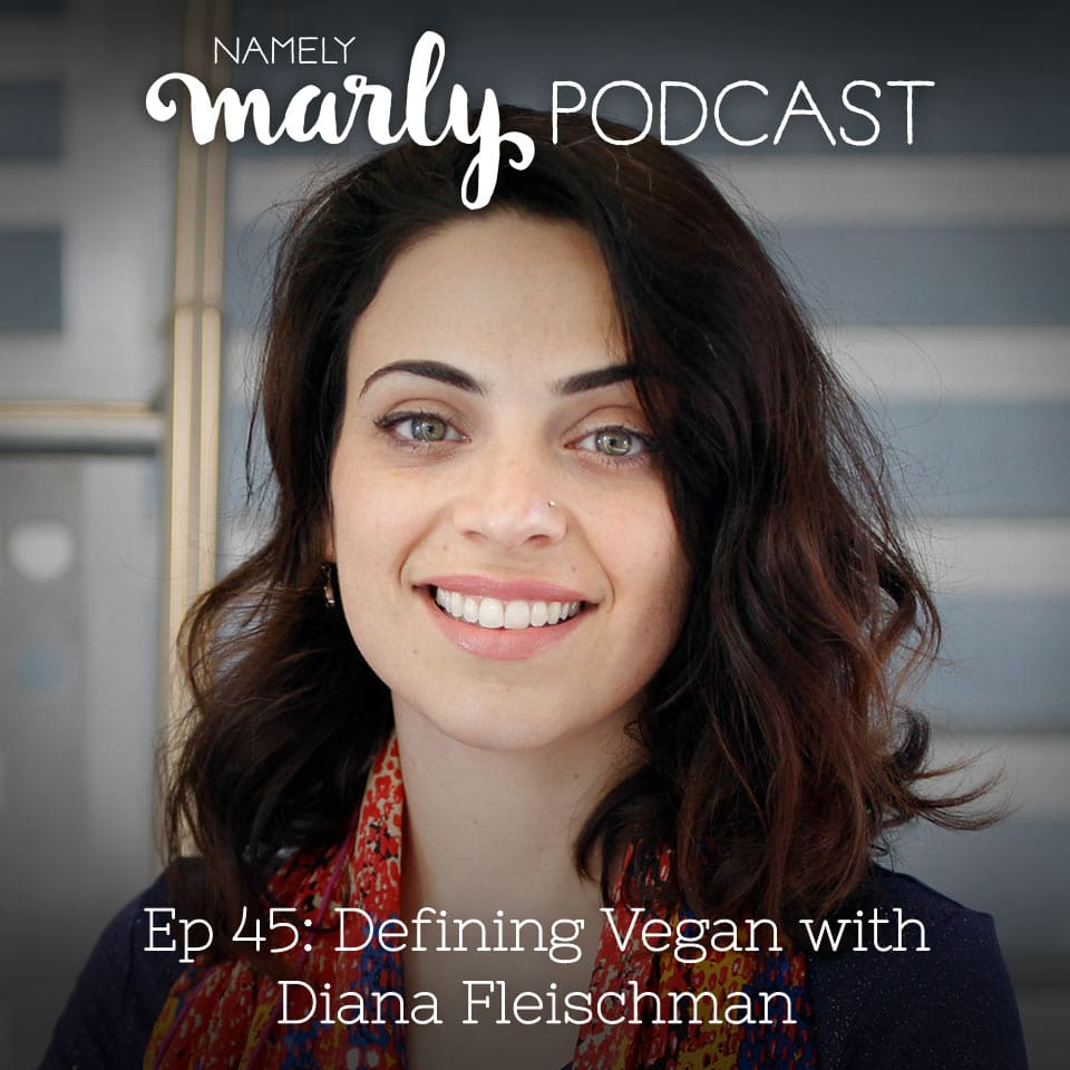"Listen to my conversation with Diana Fleischman on Defining Vegan, about some creative approaches to a vegan diet, including ways you can be ""mostly vegan"" while still consuming some animal products. It's a very thought-provoking discussion!"