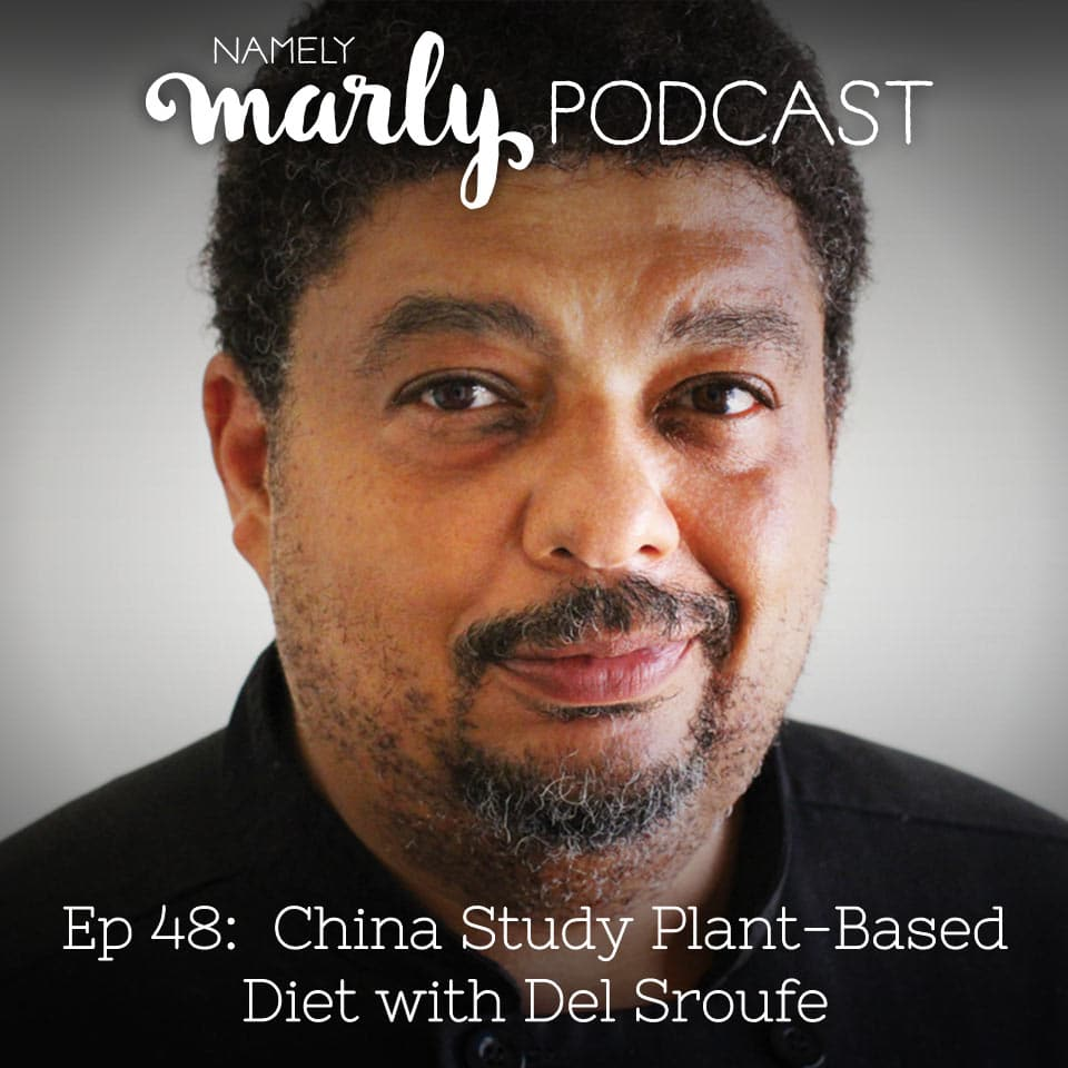 Today's guest, Del Sroufe, lost 200 pounds using the China Study Plant-Based Diet. We talk about his weight loss and his recent cookbook sharing plant-based recipes so you can see the healing impact of this diet as well.