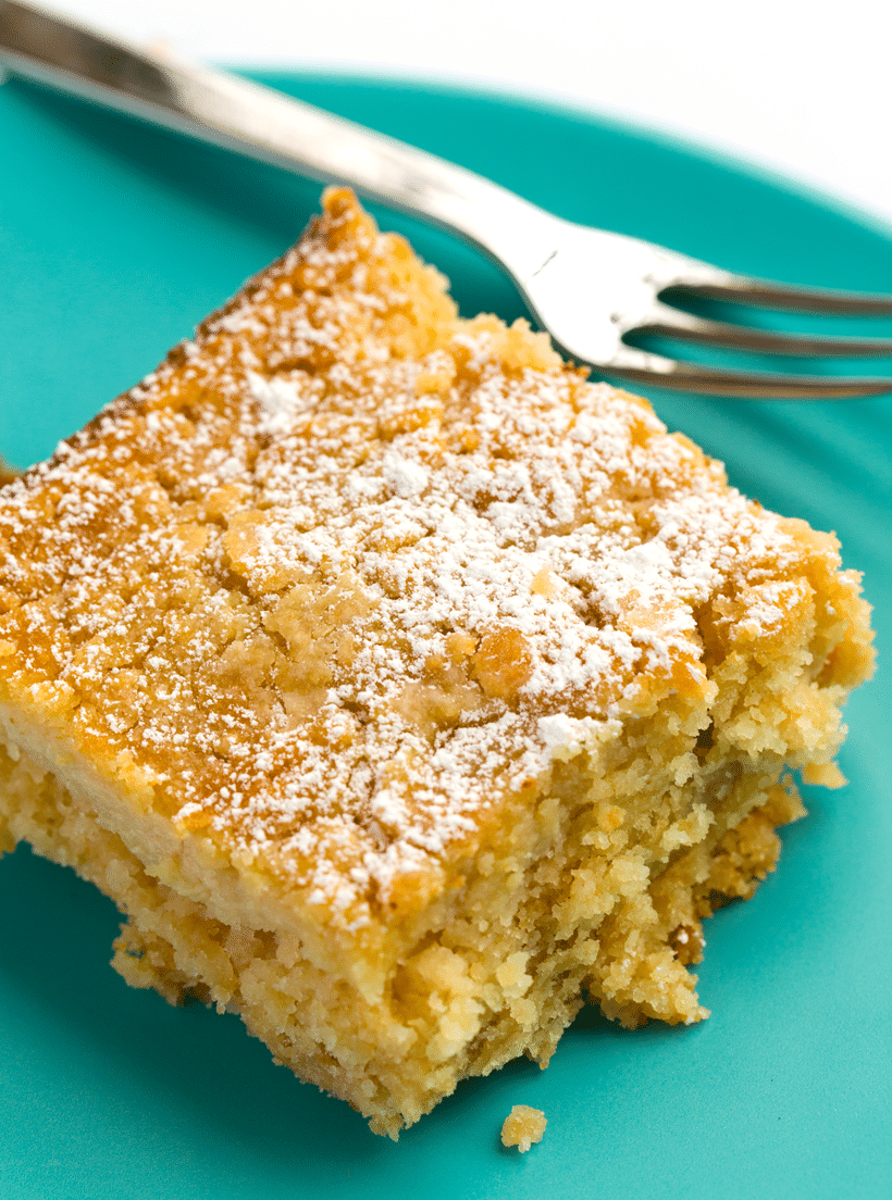 Vegan Gooey Butter Cake