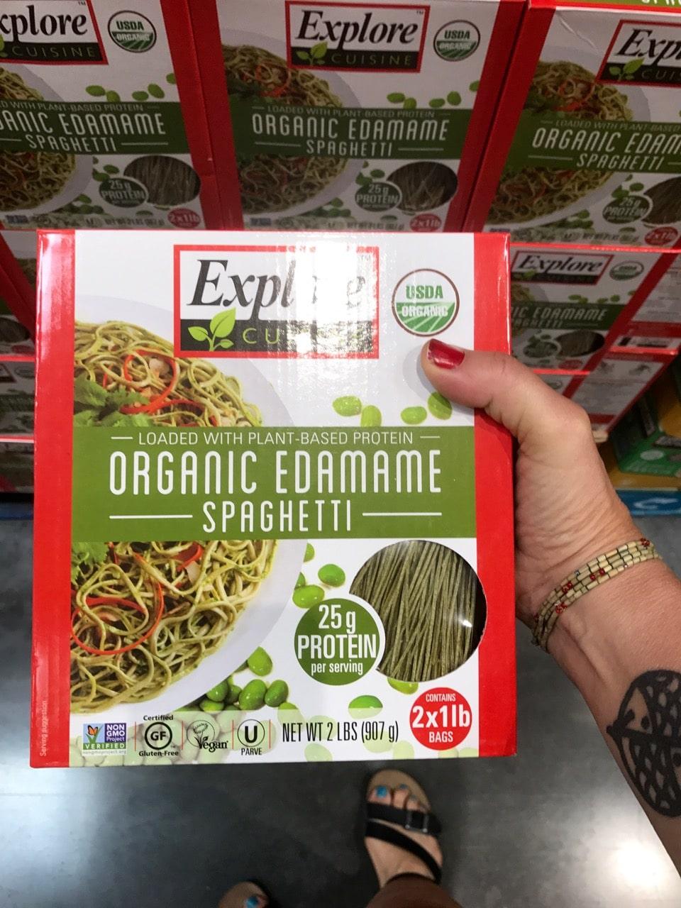 Explore Kitchen Organic Edamame Spaghetti at Costco