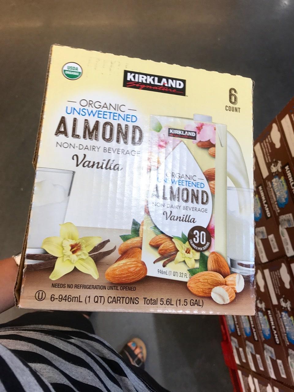 Kirkland Almond Milk