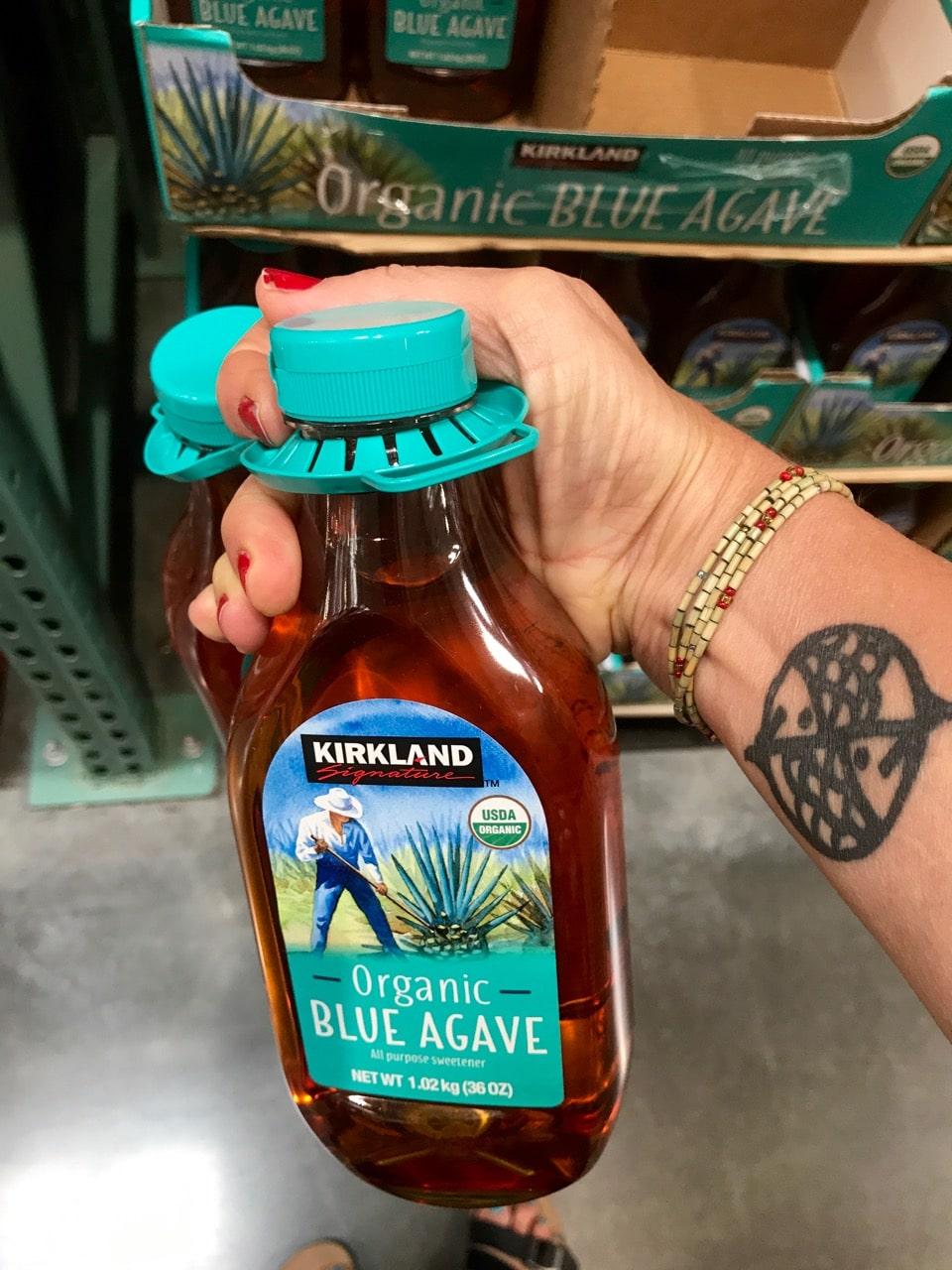 Kirkland Agave Nectar.