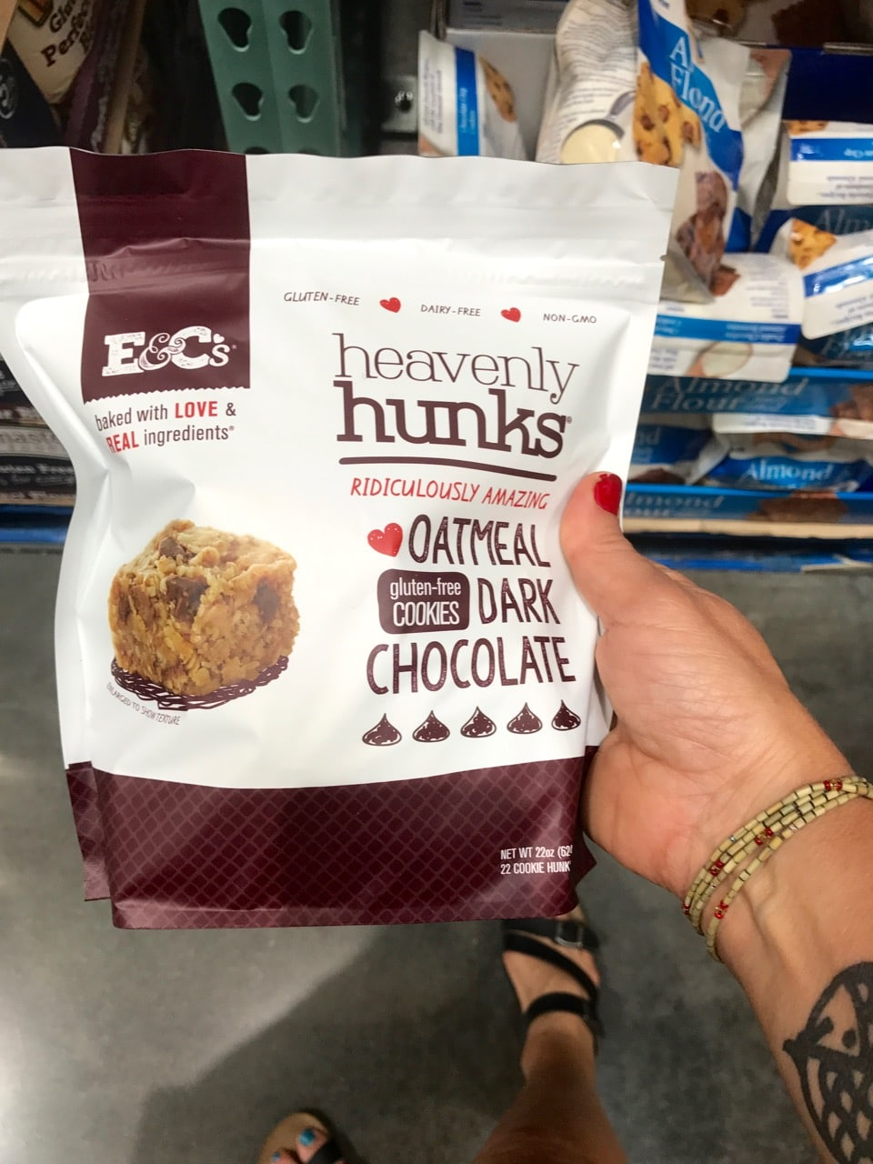 We love these Chocolate Hunks from Costco