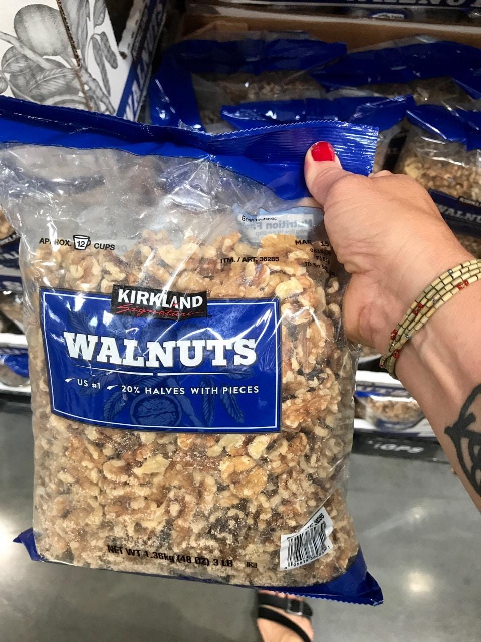 Kirkland Walnuts at Costco