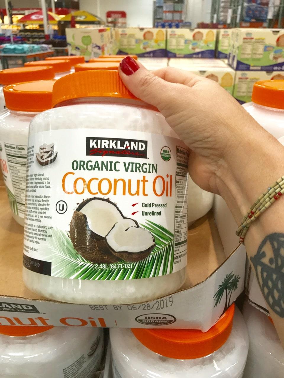 36 Favorite Vegan Products at Costco: Kirkland Coconut Oil