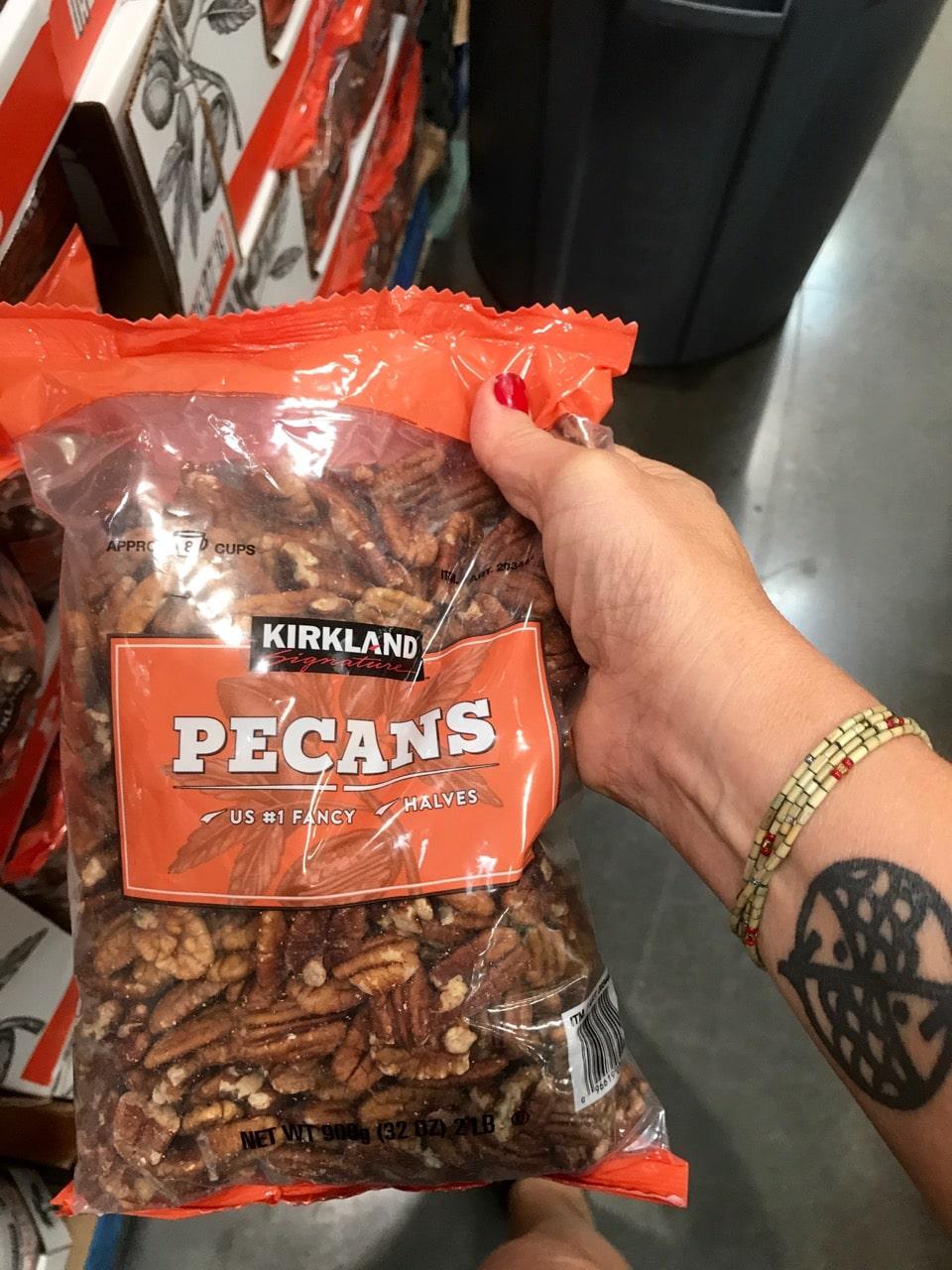 Love these Kirkland Pecans to use in my Vegan Pecan Pies