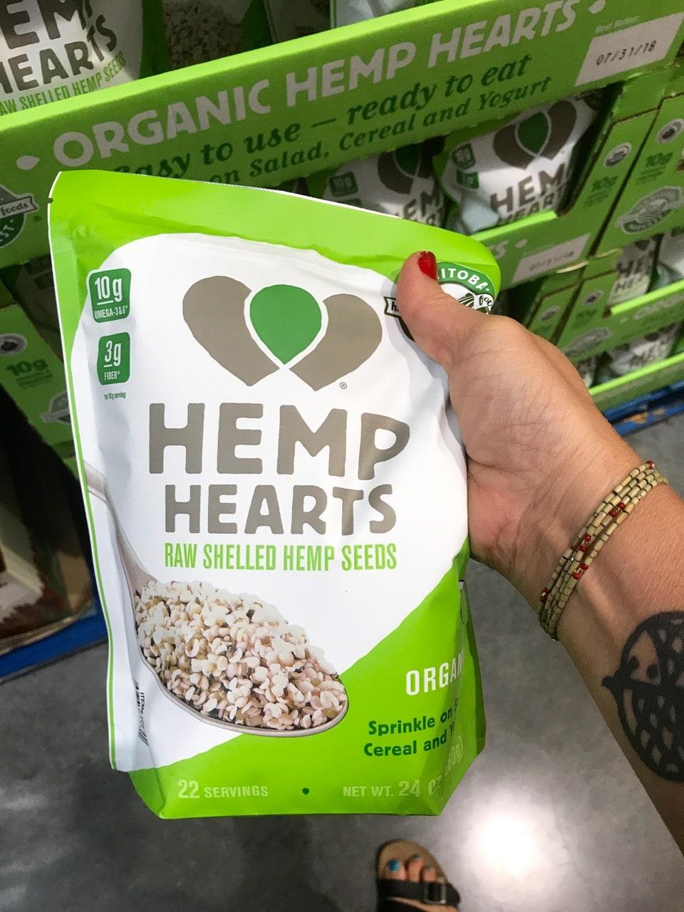 Hemp Seeds from Costco
