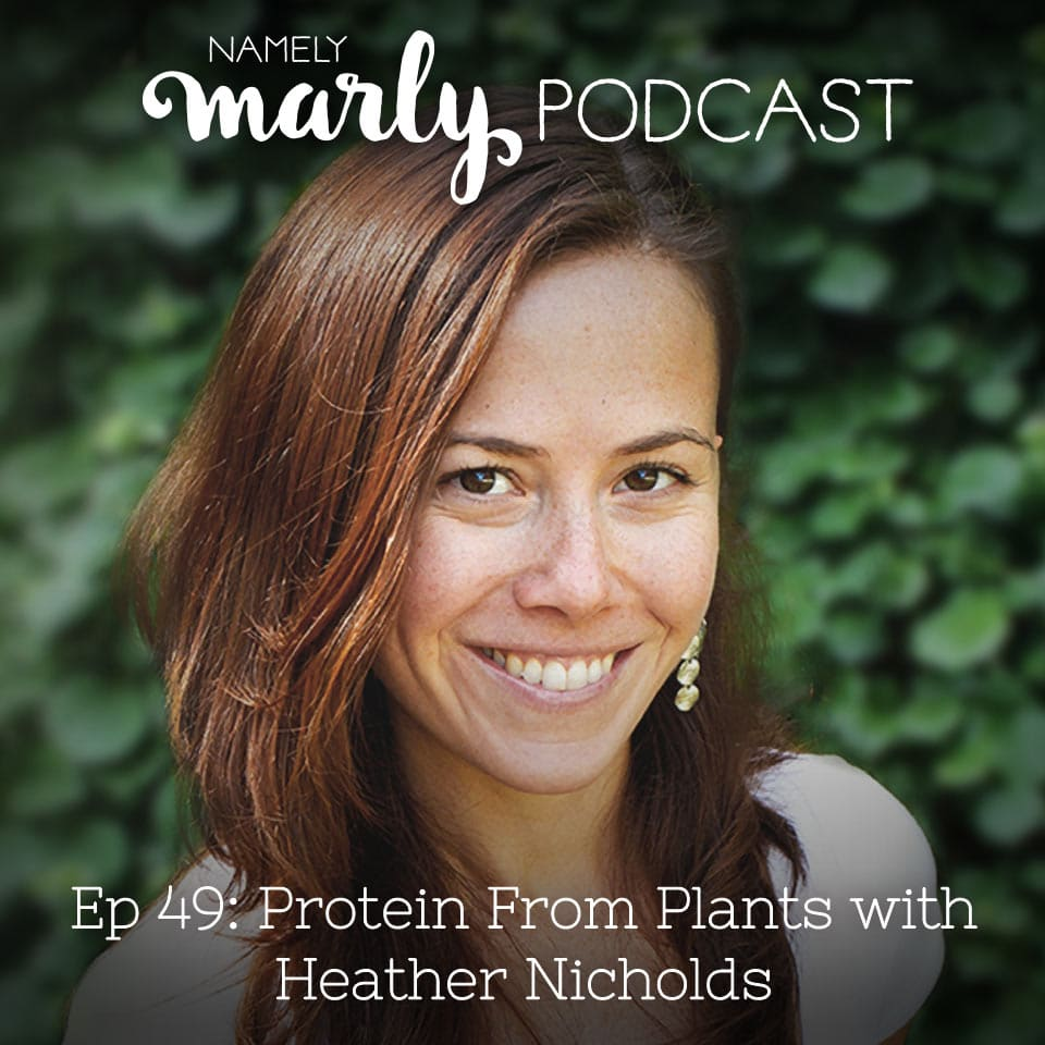 But where do you get your protein? That's the number one question most vegans hear. And today, Heather Nicholds has a very simple answer: Get your protein from plants! That's the title of her new book and that's what we're talking about; getting protein from plants.