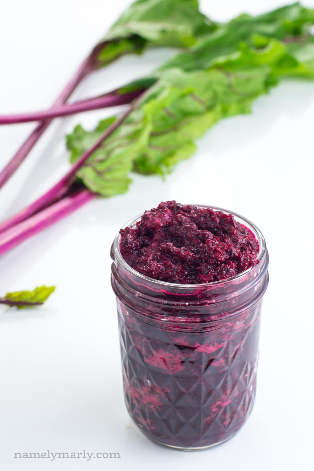 How to make beet puree