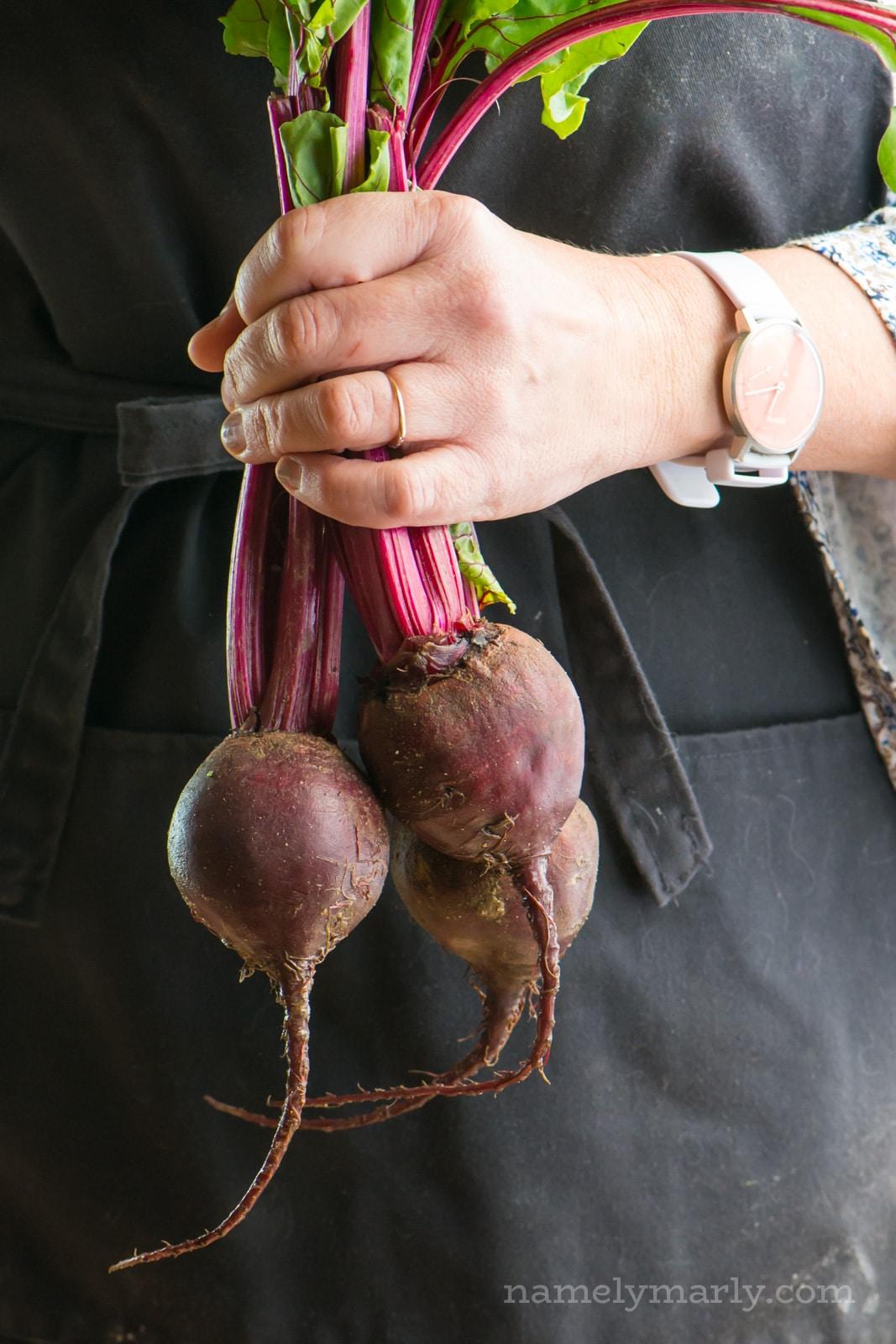 How to make a beet puree