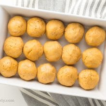 These vegan Sweet Potato Dinner Rolls require some time for rising.