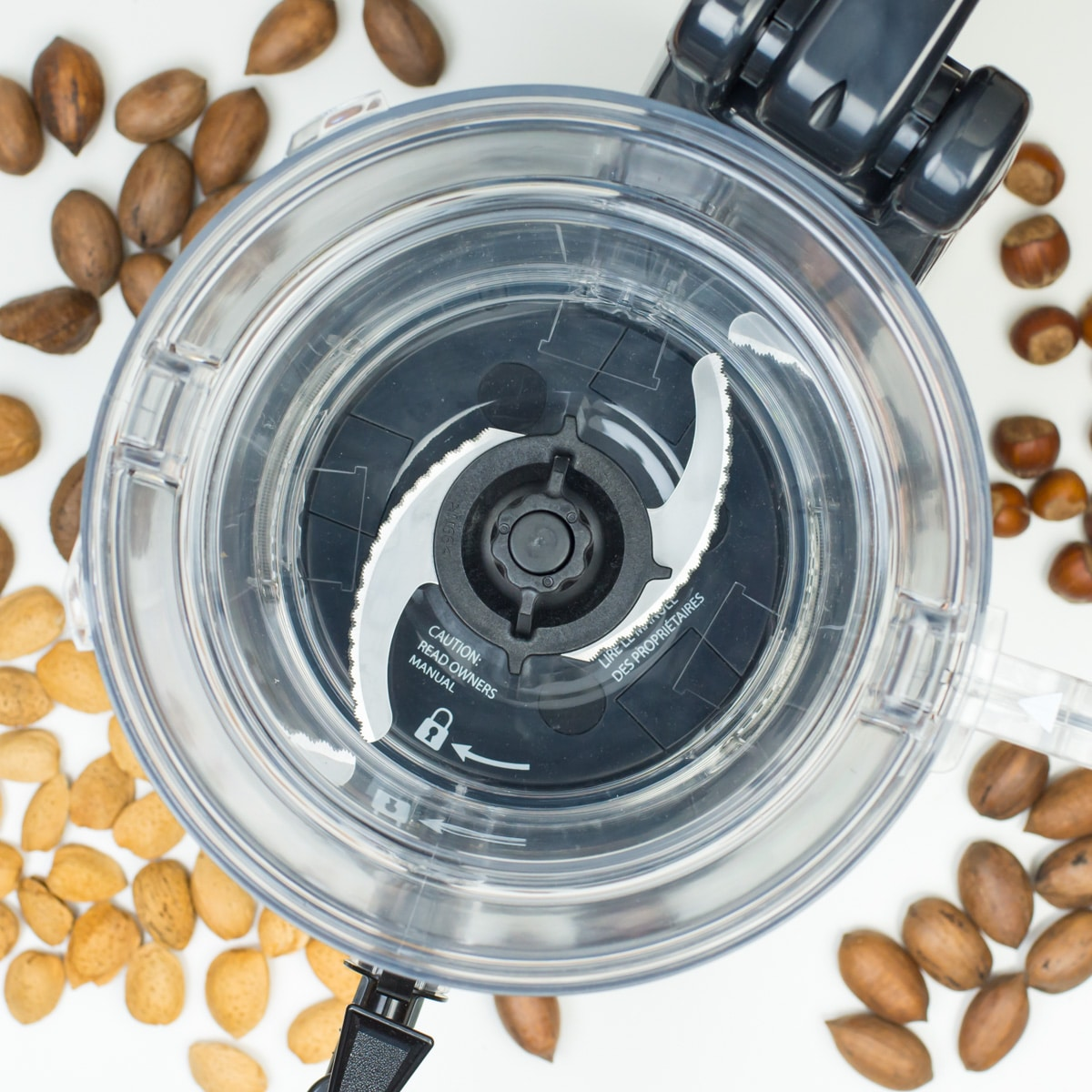 It's easy to use the NutraMilk to make plant-based milks, nut butters, and even dips like hummus!