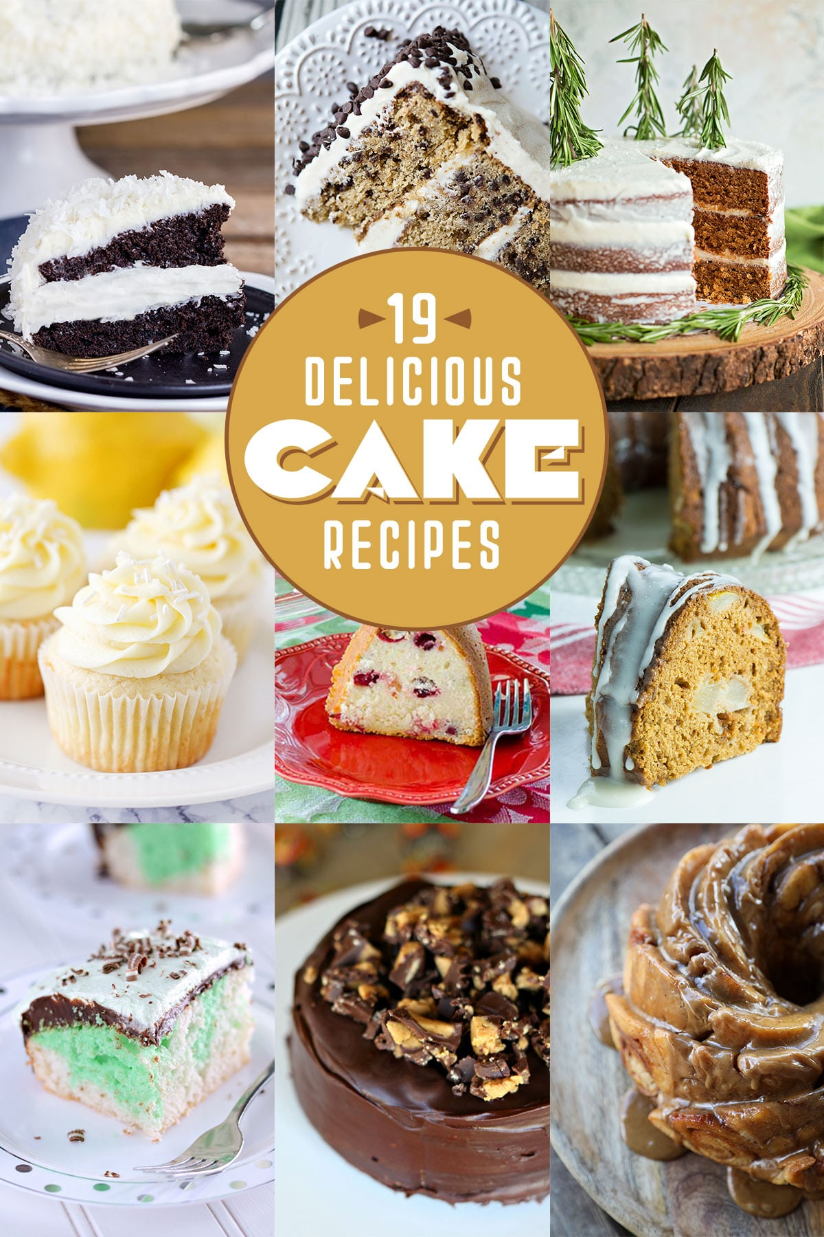 It's National Cake Day and I'm celebrating with a bunch of other awesome food bloggers to share over 19 delicious cake recipes!