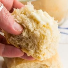 Soft, tender, buttery, these easy vegan dinner rolls are a perfect and easy recipe to add something extra to your next family dinner.