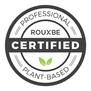 Rouxbe Certified Plant-Based Professional badge